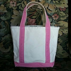 LL Bean small boat and tote